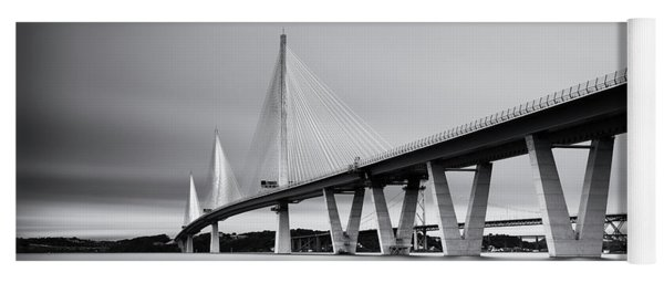 Queensferry Crossing Bridge Mono Yoga Mat