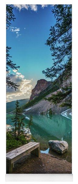 Quiet Lake Moraine Solitude Yoga Mat
