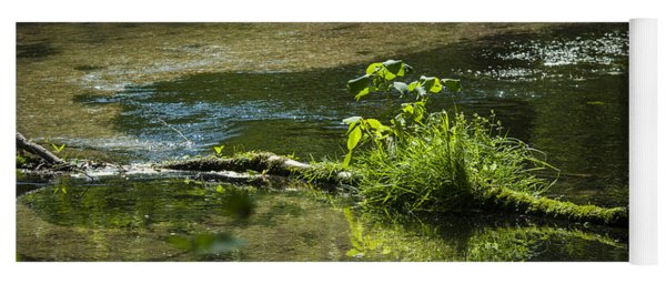 Quiet Trout Stream Yoga Mat