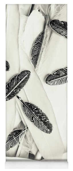 Quills Of A Feather Yoga Mat