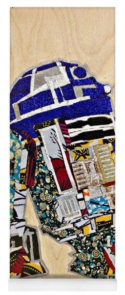 R2-d2 Star Wars Afrofuturist Collection Yoga Mat