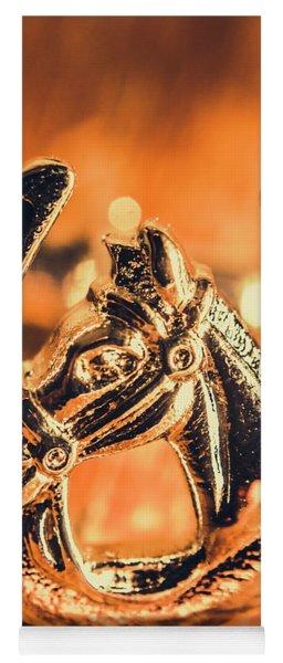 Racehorse Luck Yoga Mat