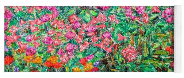 Radford Flower Garden Yoga Mat