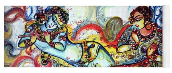 Radha Krishna - Flute - Love Yoga Mat