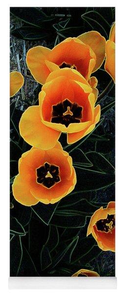 Radiant Tulips Yoga Mat