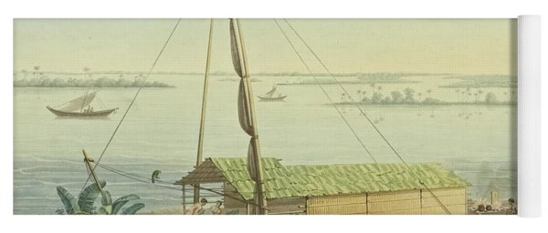 Raft On The River Guayaquil Yoga Mat