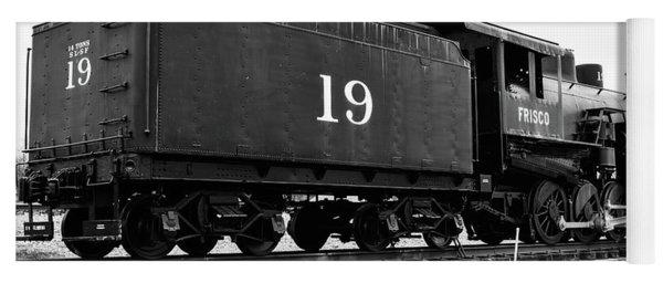 Railway Engine In Frisco Yoga Mat