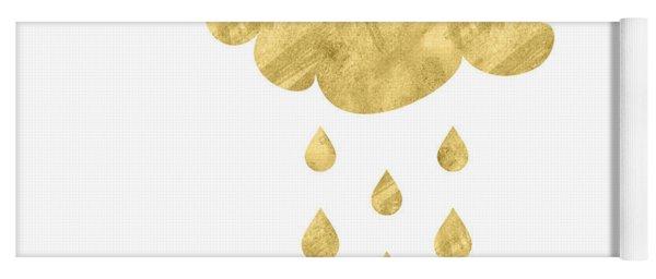 Rain Cloud- Art By Linda Woods Yoga Mat