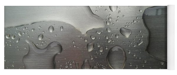 Yoga Mat featuring the photograph Rain Drops by Jimmy Clark