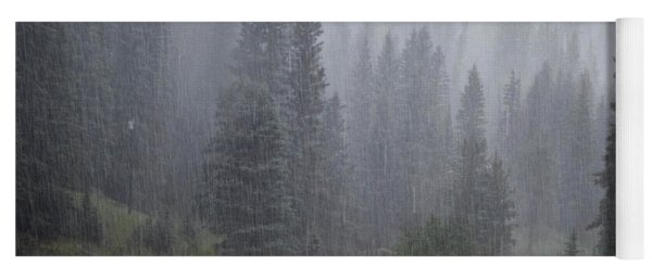 Rain Lovely Rain Yoga Mat