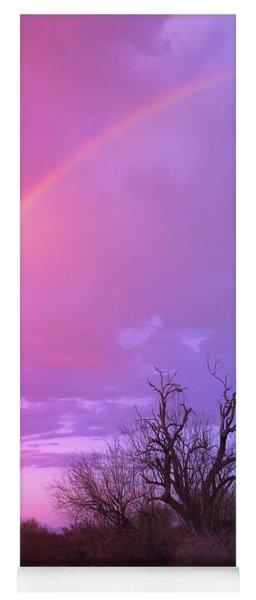 Rainbow And Ironwood Yoga Mat