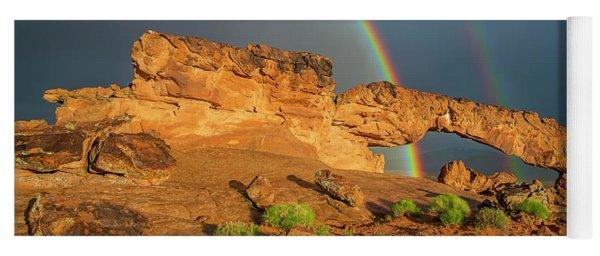 Rainbow Arch Yoga Mat