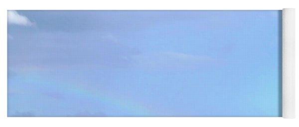 Rainbow At The Beach 1 Yoga Mat