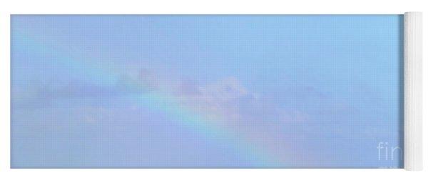 Rainbow At The Beach 2 Yoga Mat