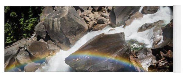 Rainbow At Vernal Falls- Yoga Mat