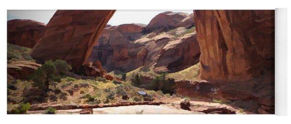 Rainbow Bridge - Watercolor - Glen Canyon National Recreation Area Yoga Mat