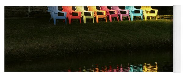 Rainbow Chairs  Yoga Mat