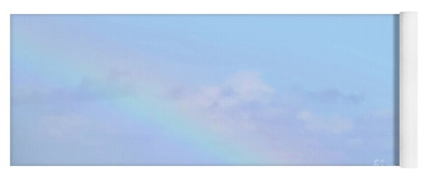 Rainbow Clouds And Sky Yoga Mat
