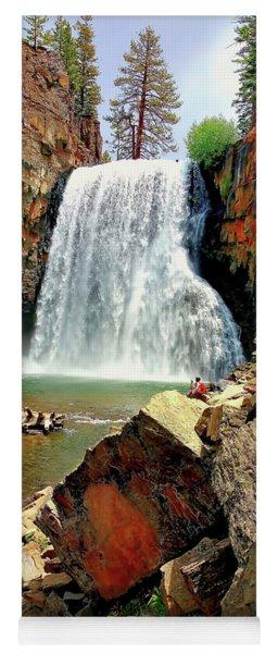Rainbow Falls 17 Yoga Mat