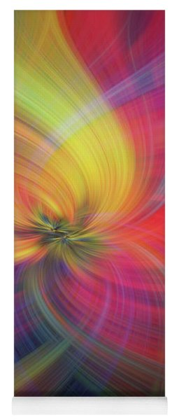 Rainbow Flower Of Passion Yoga Mat