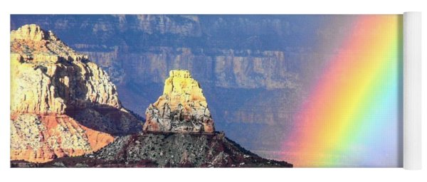 Rainbow Kisses The Grand Canyon Yoga Mat