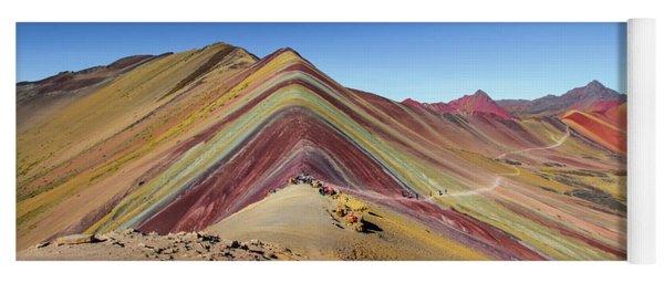 Rainbow Mountain, Cusco, Peru Yoga Mat
