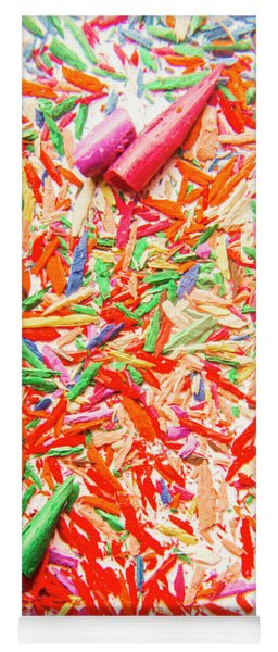 Rainbow Shatters  Yoga Mat