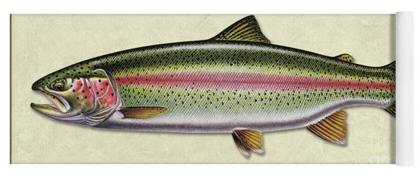 Rainbow Trout Id Yoga Mat