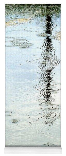 Raindrop Abstract Yoga Mat