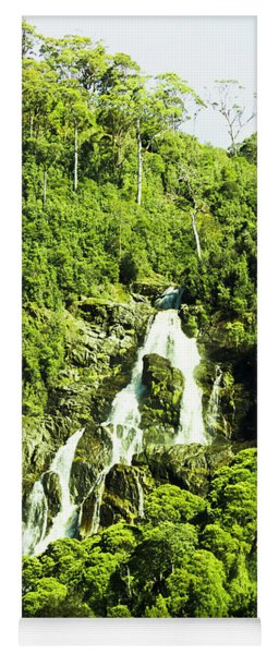 Rainforest Rapids Yoga Mat