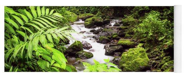 Rainforest River Yoga Mat