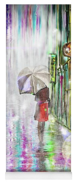 Rainy Paris Day Yoga Mat