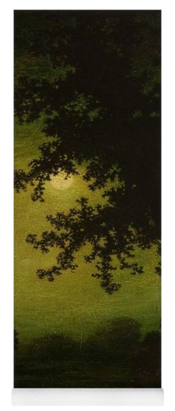 Yoga Mat featuring the painting Ralph Albert Blakelock  1847  1919  Stilly Night by Artistic Panda