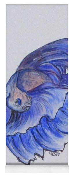 Ralphi, Betta Fish Yoga Mat