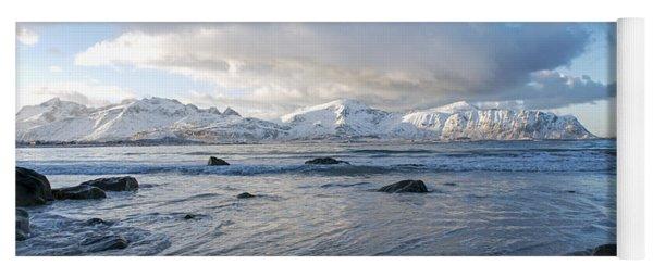 Ramberg Beach, Lofoten Nordland Yoga Mat