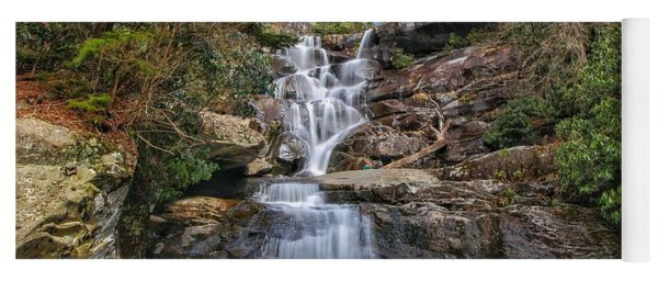 Ramsey Cascades - Tennessee Waterfall Yoga Mat