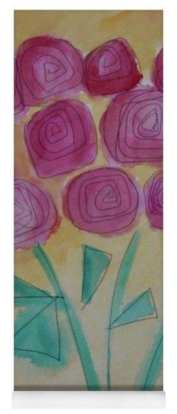 Randi's Roses Yoga Mat