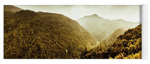 Range Of Scenic Country Yoga Mat