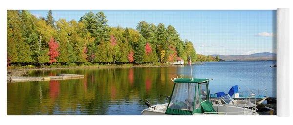 Rangeley Lake Boats Yoga Mat