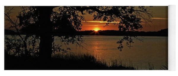 Roanoke Island Sunset Yoga Mat