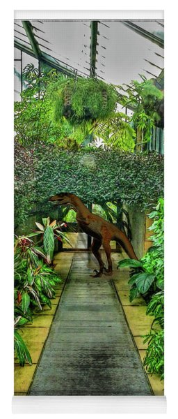 Raptor Seen In Kew Gardens Yoga Mat
