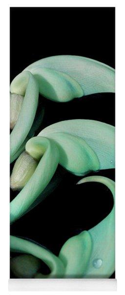 Rare Orchid Petals Yoga Mat