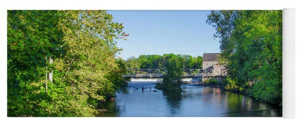 Raritan River - Clinton New Jersey  Yoga Mat