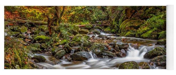 Cascades And Waterfalls Yoga Mat