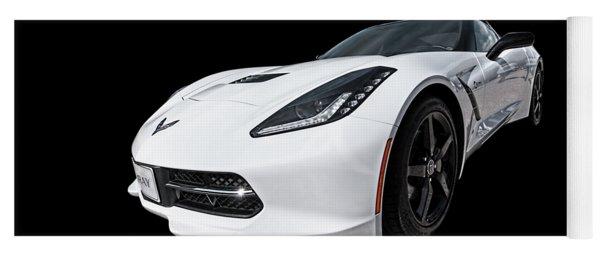 Ray Of Light - Corvette Stingray Yoga Mat