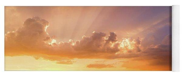 Rays Of Hope Yoga Mat