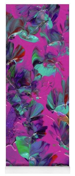 Razberry Ocean Of Butterflies Yoga Mat