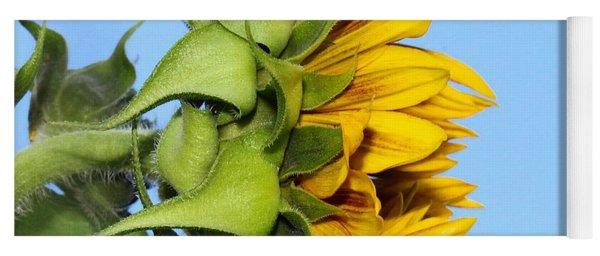 Reaching Sunflower Yoga Mat