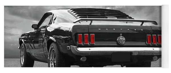 Rear Of The Year - '69 Mustang Yoga Mat