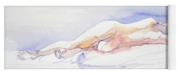 Reclining Figure  Yoga Mat